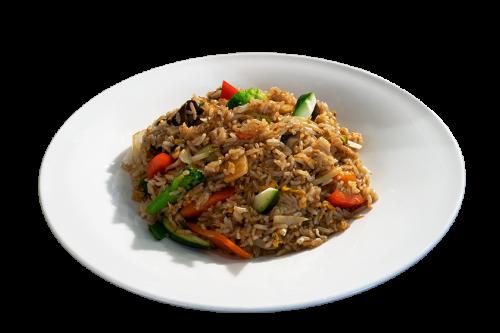 Gebratener Reis (vegetarisch)