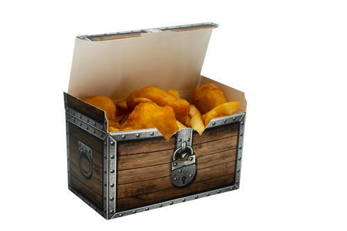 Nuggets Kids Menü