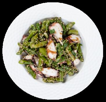 Sprargel Octopus Salat
