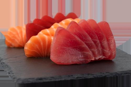 Lachs- und Thunfischfilet Mix ½ Portion