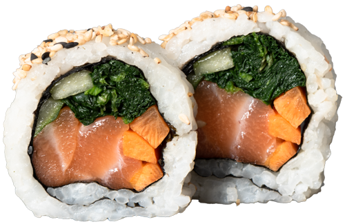 Spinat Lachs Roll