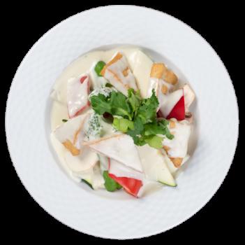 Tofu mit Kokosmilch