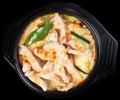 Eintopf nach Thai Art mit Huhn