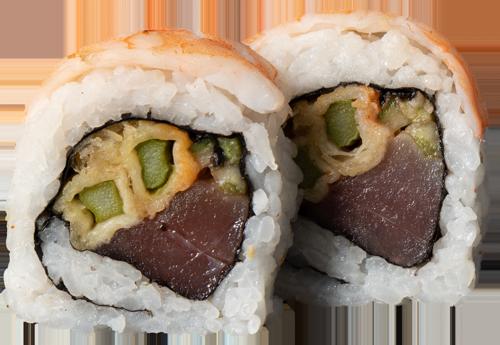 Crispy Ebi Tuna Roll