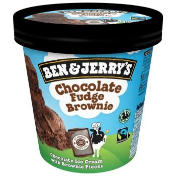 Ben & Jerry's  Chocolate Fudge Brownie Eis Groß