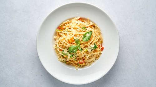 Spaghetti a Olio