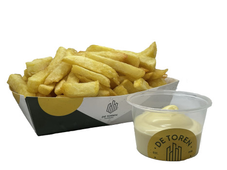 Grote friet vlaamse mayonaise