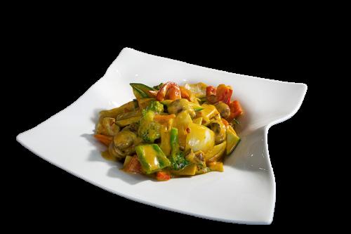 Curry mit Huhn