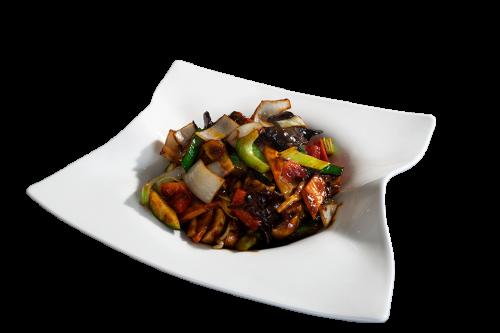 Kun-Bao mit Tofu