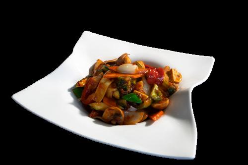 Szechuan mit Tofu