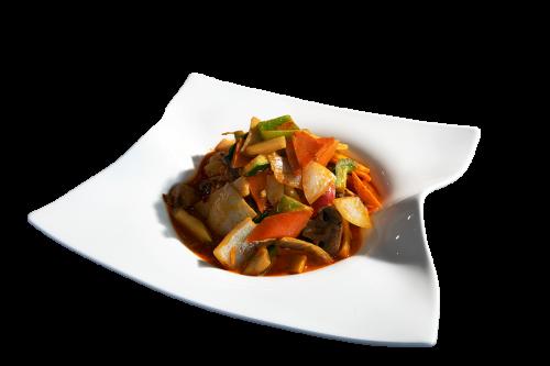 Gäng Luang Hung mit Tofu