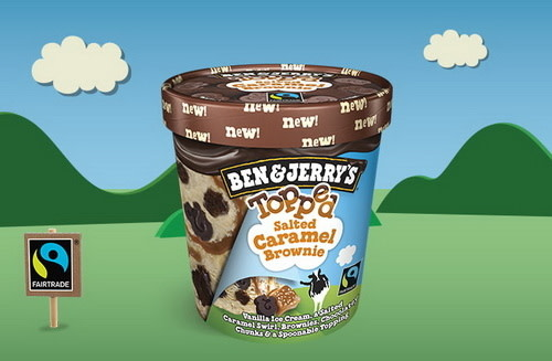 Ben & Jerry's Topped Salted Caramel Brownie (500ml)