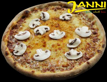 6g. GLUTENFREI Pizza Funghi 30cm