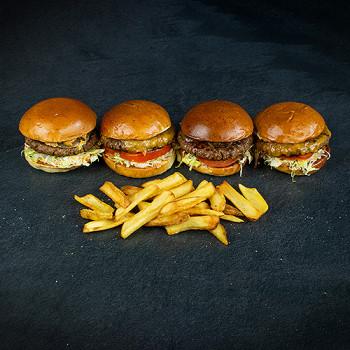Family Size Hamburger Package