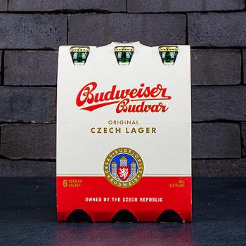 Budweiser 6 x 0,33l