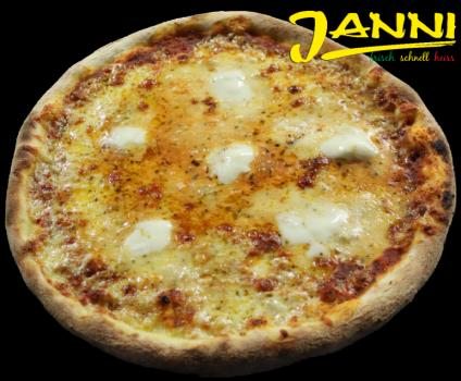 23g. GLUTENFREI Pizza Quattro Formaggi 30cm