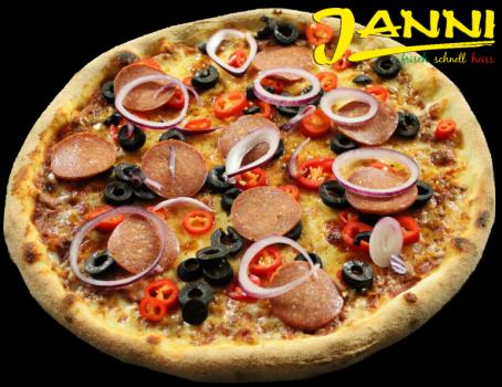 31g. GLUTENFREI Pizza Sucuk 30cm
