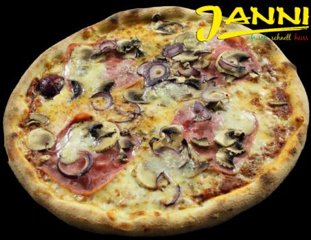 34hg. GLUTENFREI Pizza Amore Mio 30cm (Hinterschinken)