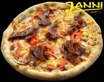 35g. GLUTENFREI Pizza La Mexica 30cm