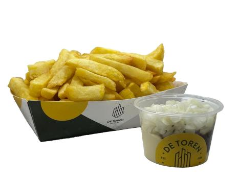 Grote friet speciaal curry