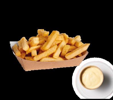 Frites mayonaise