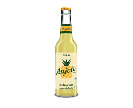 fritz-kola Anjola Bio 0,33l Limonade mit Ananas-Limette