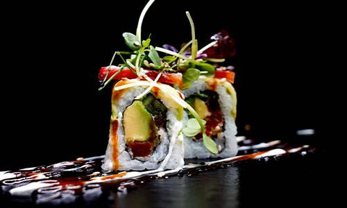 Red Vegan Roll