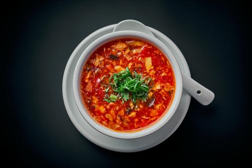 Spoodi Sauer-Scharf-Suppe