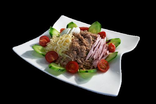 Salat Capricciosa Blech