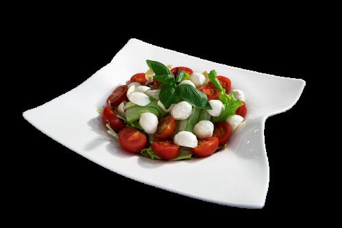 Salat Caprese Blech