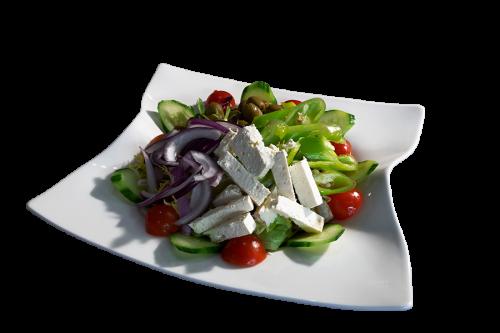 Salat Greek Blech