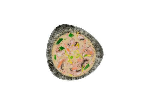 Erdnuss-Kokos-Suppe