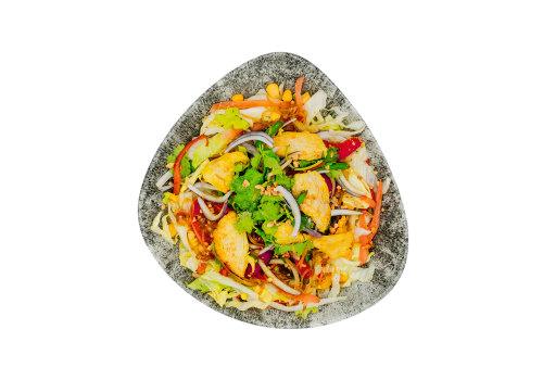 Salat-Bowl mit Huhn