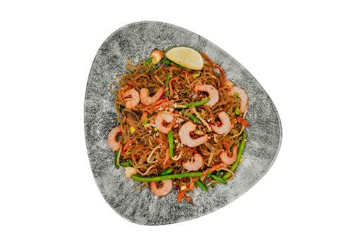 Glasnudeln mit Shrimps