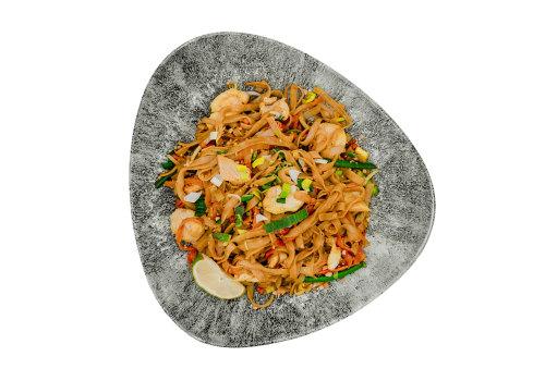 Pad Thai mit Huhn