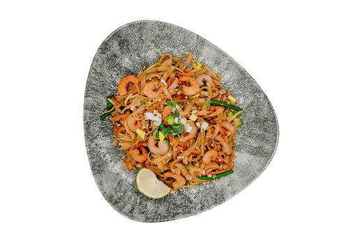 Pad Thai mit Shrimps