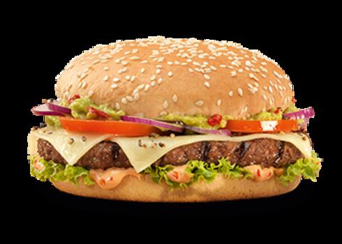 Spicy Guacamole burger (Double-Me)