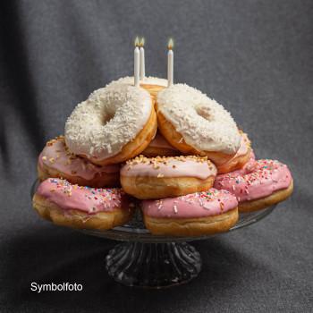 Donut-Torte Vegan