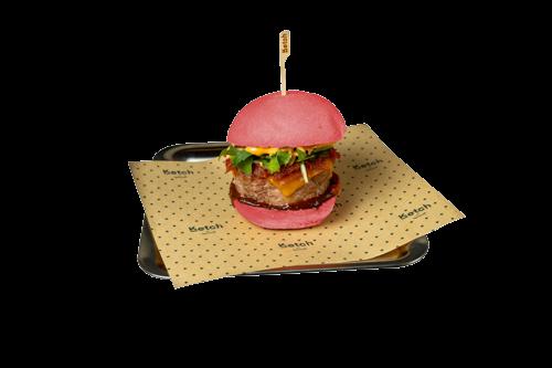 Cheese Burger Pink