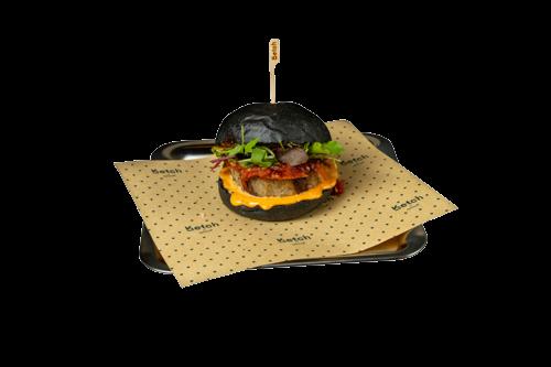 Hamburger Black
