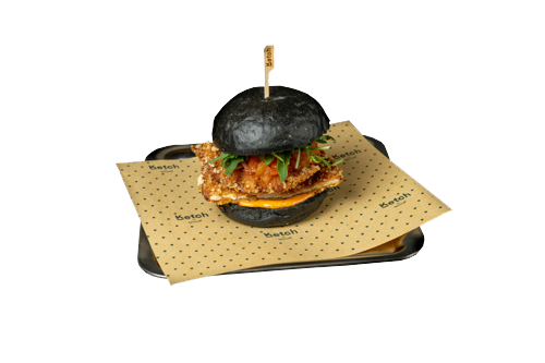 Smoked Chicken Crispy Black