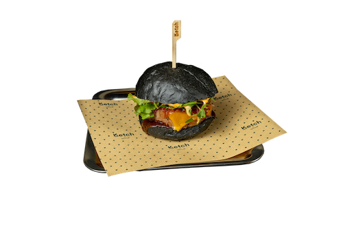 Cheese Burger Black