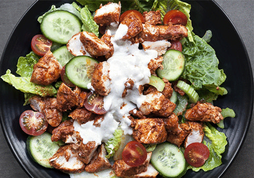 Tandoori Chicken Salat