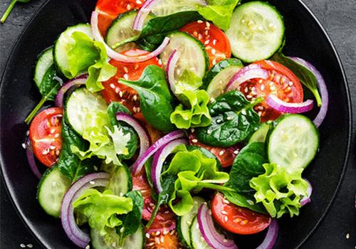Cucumber Salat (vegan)