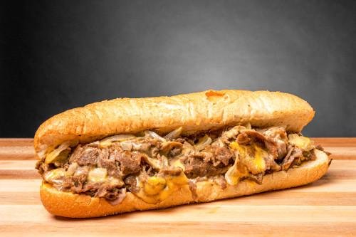 Philly Cheese Steak Sandwich