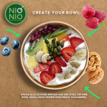 Create Your Own Vegan Yogurt Bowl
