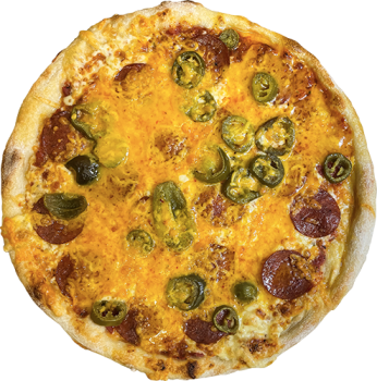 Chili Cheese Pizza Ø 40cm