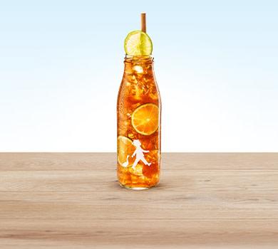 Eistee Pfirsich-Limette 0,5l
