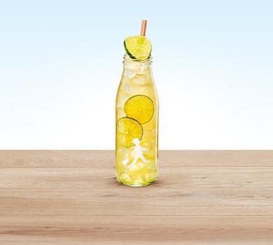 Limo Pfirsich-Limette 0,5l
