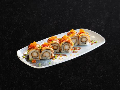 Ebi Unagi Roll (6 Stk.)